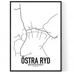Östra Ryd Karta