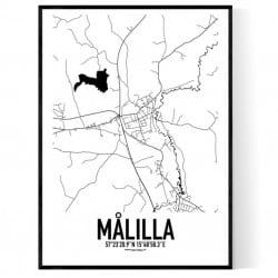 Målilla Karta