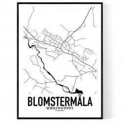 Blomstermåla Karta