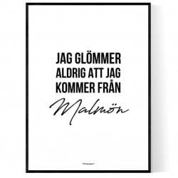 Från Malmön