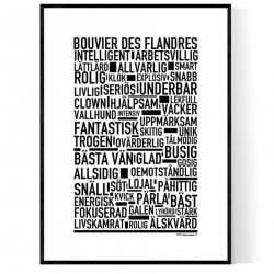 Bouvier Des Flandres Poster