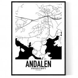 Andalen Karta