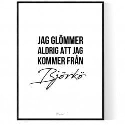 Från Björkö