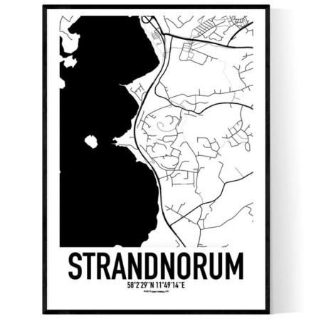 Strandnorum Karta