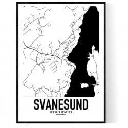 Svanesund Karta