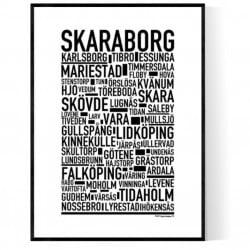 Skaraborg Poster