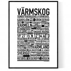 Värmskog Poster