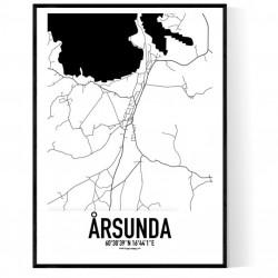 Årsunda Karta