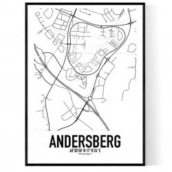 Andersberg Karta