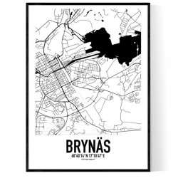 Brynäs Karta