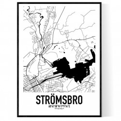 Strömsbro Karta