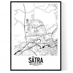Sätra Karta