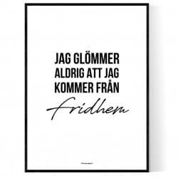 Från Fridhem