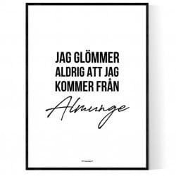 Från Almunge