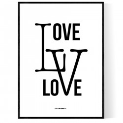 Love Love Poster