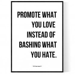 Promote Love Poster