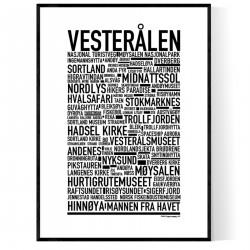 Vesterålen Poster