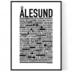 Ålesund Poster
