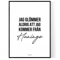 Från Haninge