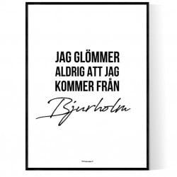 Från Bjurholm