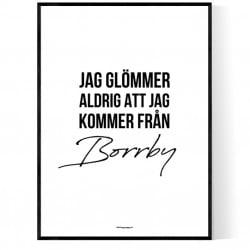 Från Borrby