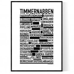 Timmernabben Poster