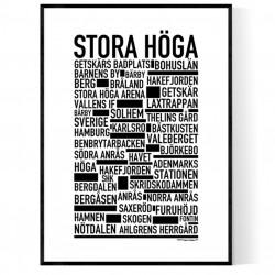 Stora Höga Poster