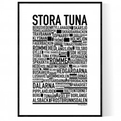 Stora Tuna Poster