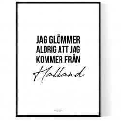 Från Halland
