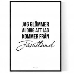 Från Jämtland