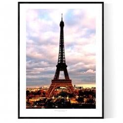 Trocadero Paris Poster