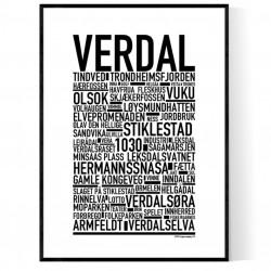 Verdal Poster