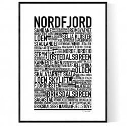 Nordfjord Poster