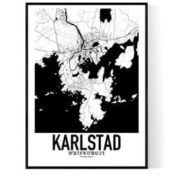 Karlstad Karta 2 Poster