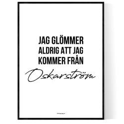 Från Oskarström