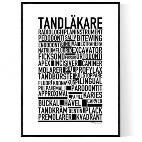 Tandläkare Poster