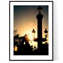 Concorde Sunrise Poster