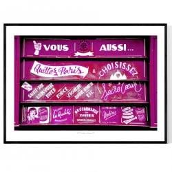 Vous Aussi Paris Poster