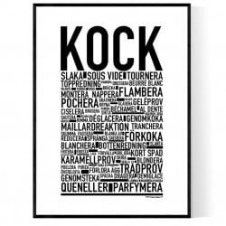 Kock Poster