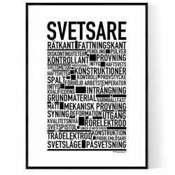 Svetsare Poster