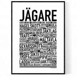 Jägare Poster