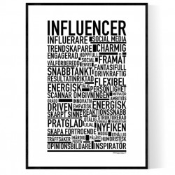 Influencer Poster
