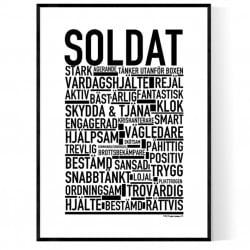 Soldat Poster