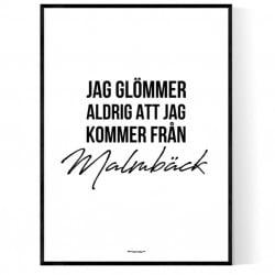 Från Malmbäck