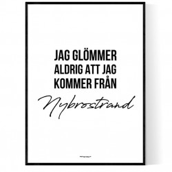 Från Nybrostrand