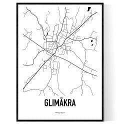 Glimåkra Karta