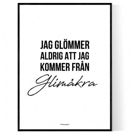 Från Glimåkra