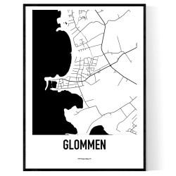 Glommen Karta