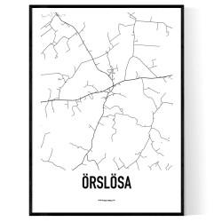 Örslösa Karta