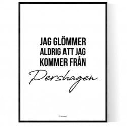 Från Pershagen
